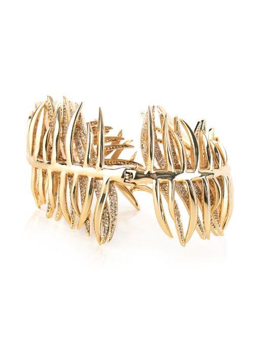 Eddie Borgo Pavé Frond Cuff Bracelet So0qgHHfA