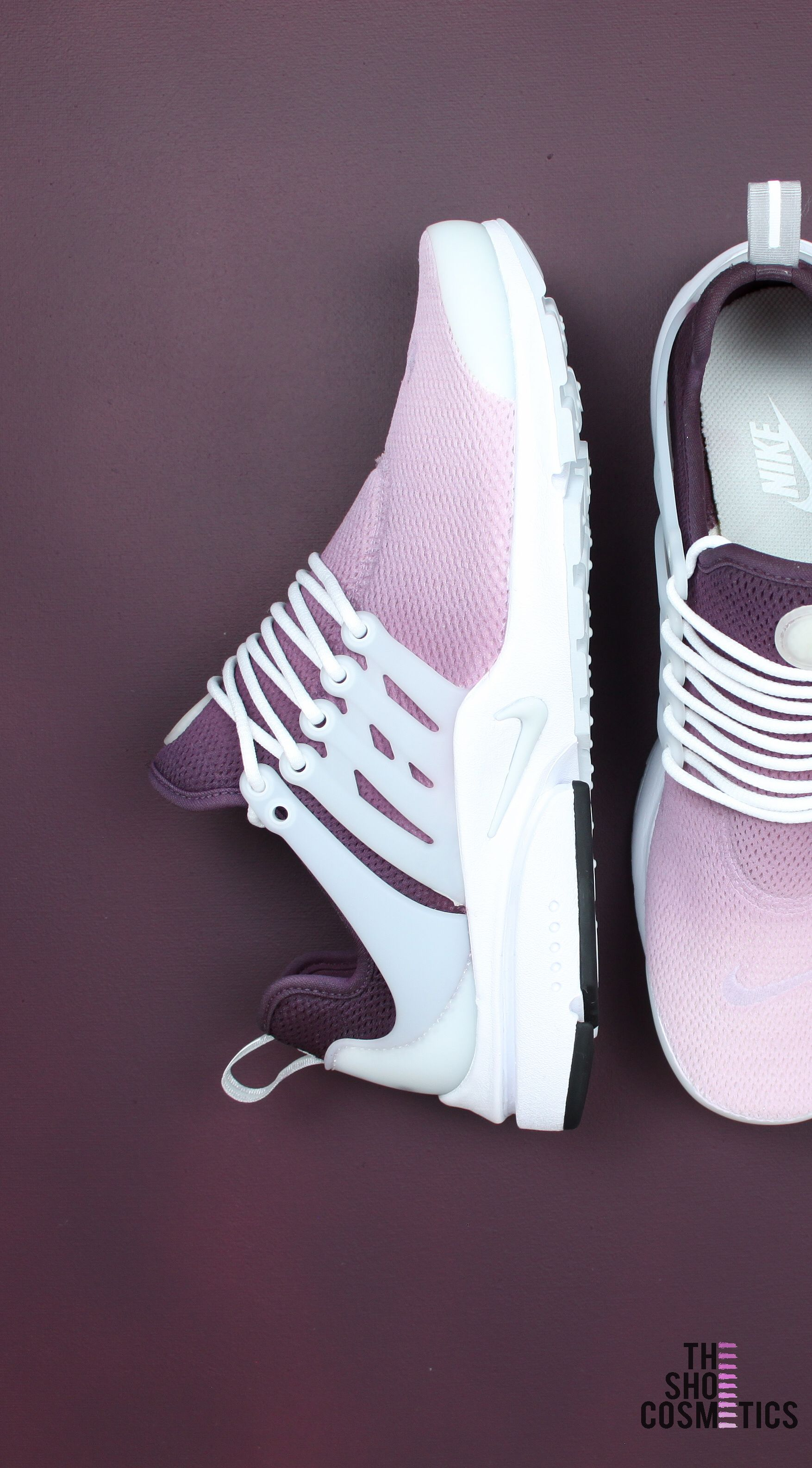 955fb342791e Looking for Maroon Nike shoes  Explore are ombré custom Nike Presto women s  sneakers. These maroon aesthetic cute custom Nike shoes are perfect for  standing ...