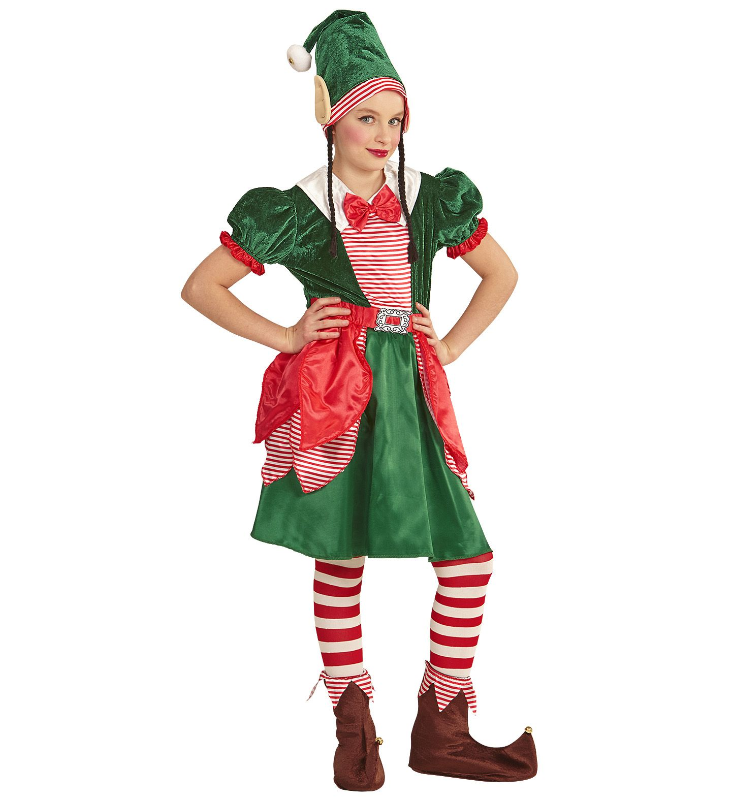 Stroj Elfka Elfa Elfki Pomocniczka Mikolaja 140 7276235686 Oficjalne Archiwum Allegro Santa S Little Helper Widmann Ronald Mcdonald