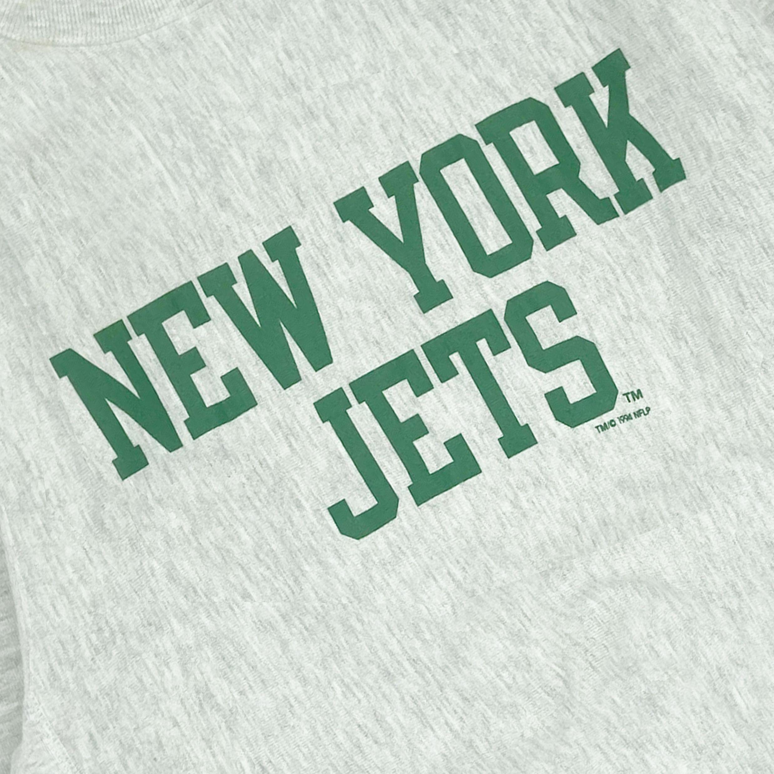 1994 Champion New York Jets Reverse Weave Crewneck ...