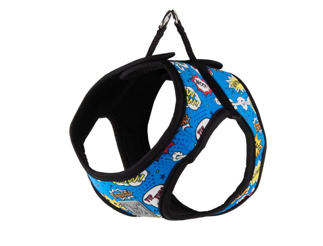 Small Dog Harness Rc Pets Comic Sounds With Matching Leash Small Dog Harness Dog Harness Your Dog