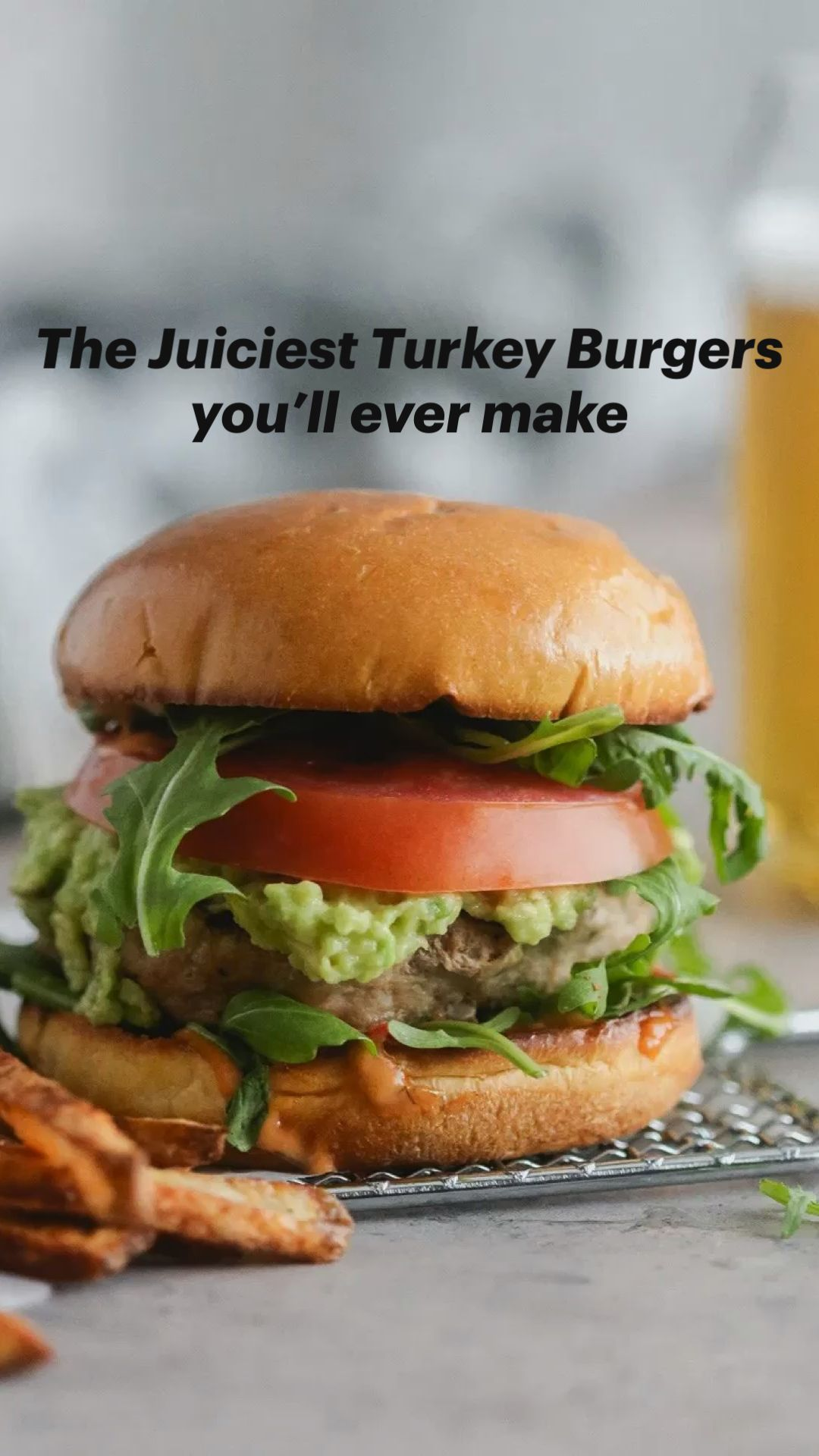 The Juiciest Turkey Burgers you'll ever make