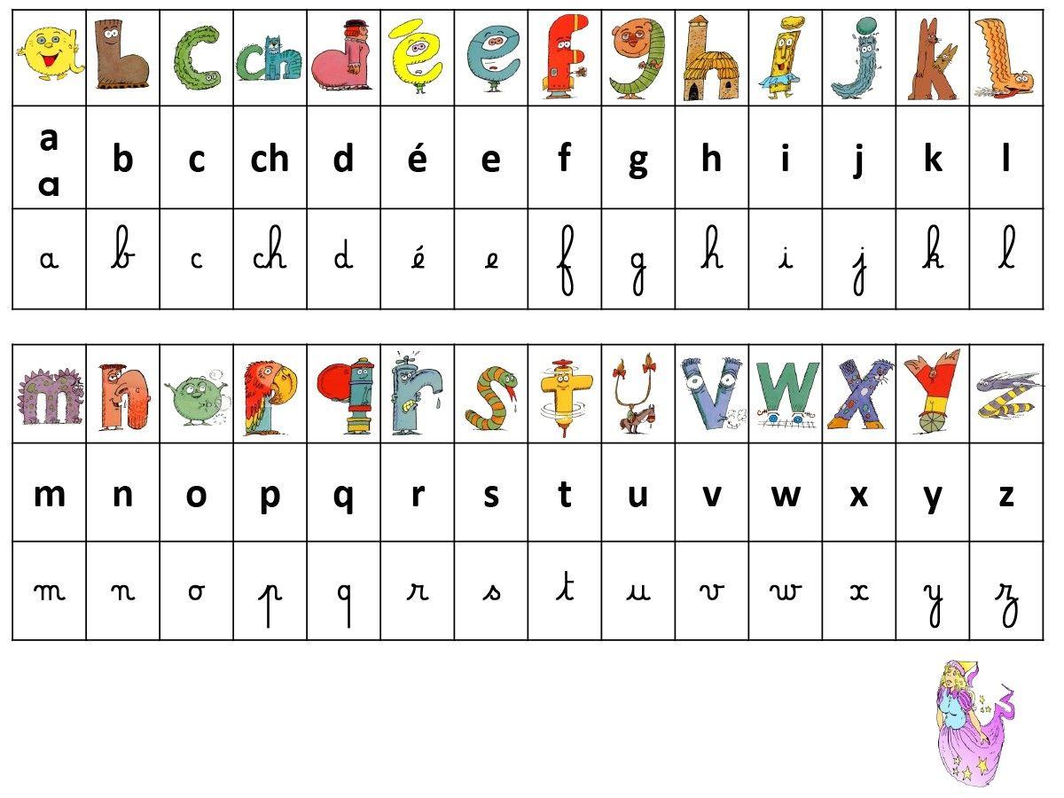 R f rentiel alphas script cursif lacatalane pdf - Alphabet majuscule a imprimer ...