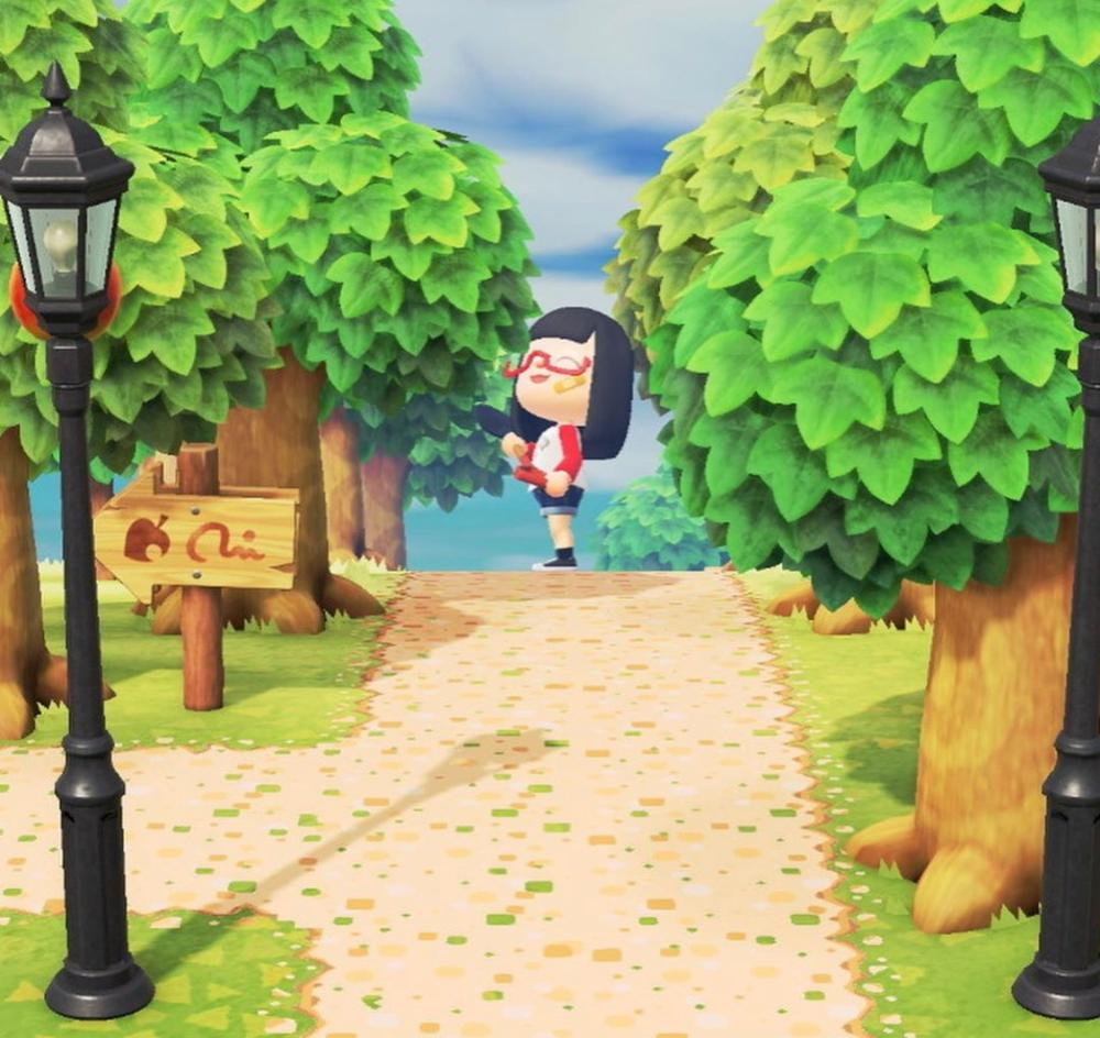 Acnh Sand Path Acnh Custom Designs New Animal Crossing Animal Crossing 3ds Animal Crossing Pc