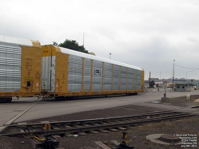 Autoracks Railroad Photography Csx Transportation Train Car