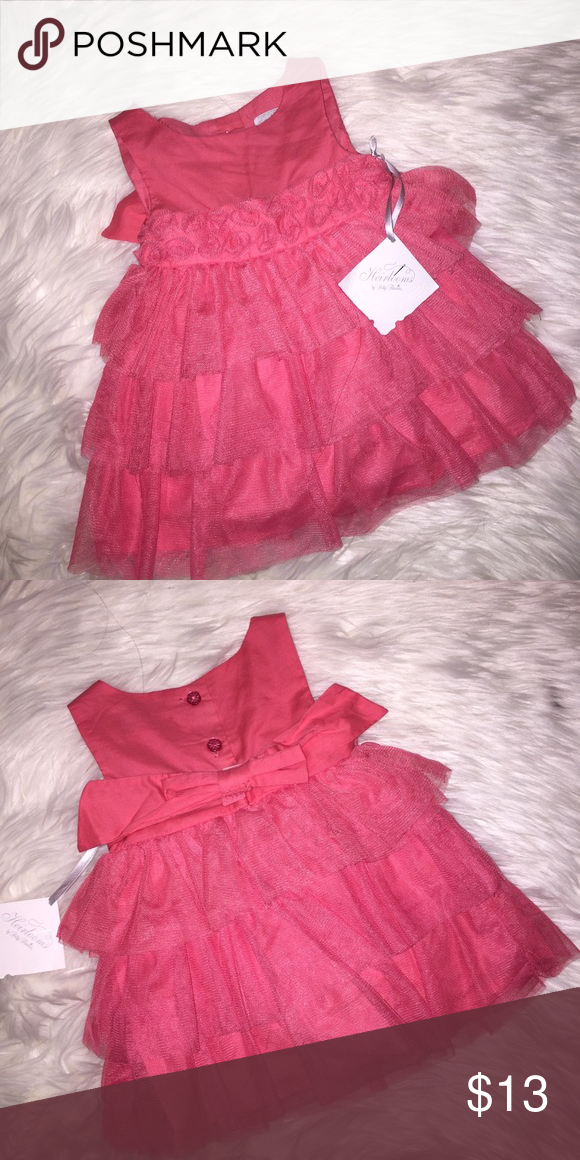 Pink baby girl dress. Y'all. I don't have a baby.... I don't know why I have this..? Haha 0-3m baby girl dress Dresses