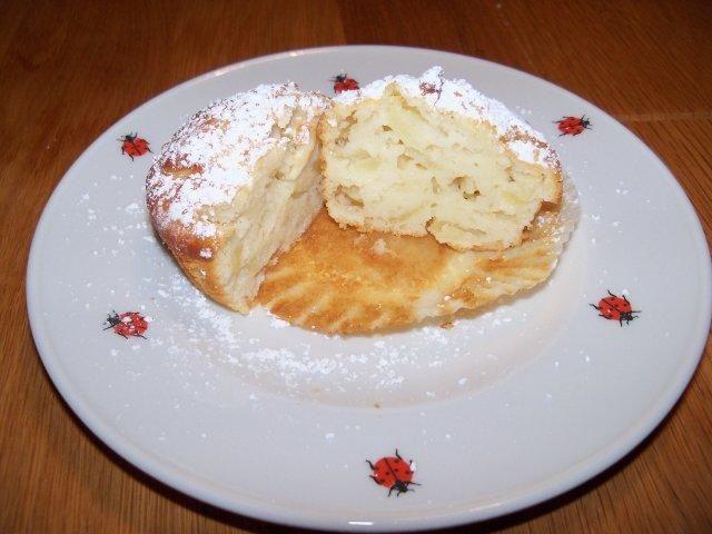 Apfel-Joghurt Muffins - Rezept mit Bild