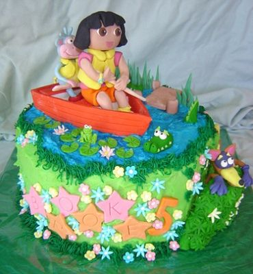 Need to find a Dora cake before July 13th for my Aubreythe