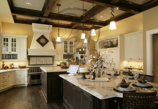 The Retreat At Water S Edge Kitchen Large Kitchen Design Kitchen Floor Plans Kitchen Plans