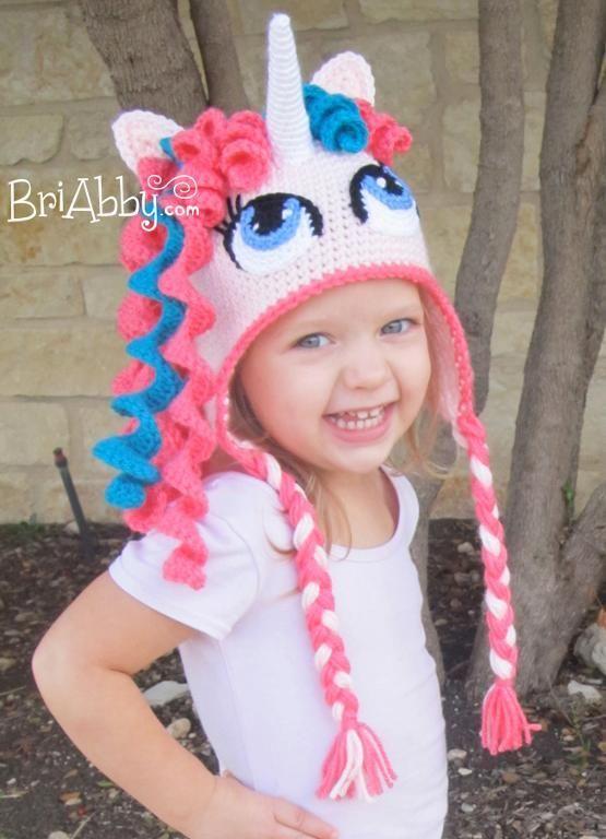 4) Name: \'Crocheting : Gorro Unicornio o Caballo de tejer | Products ...