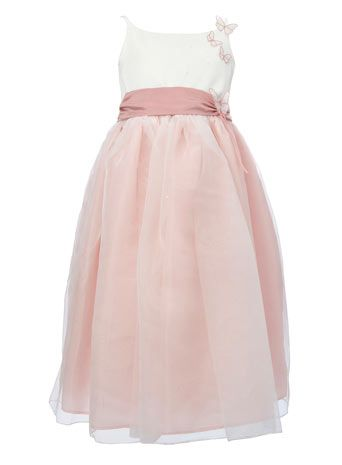 For my flower girls wedding guest attire pinterest dusky pink for my flower girls dusky pink bridesmaid dressespink mightylinksfo