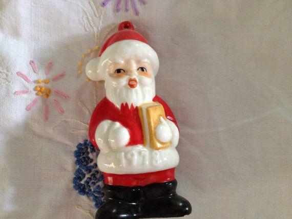 Vintage Goebel Santa 1978 collectible by FarmFreshTreasures, $8.00