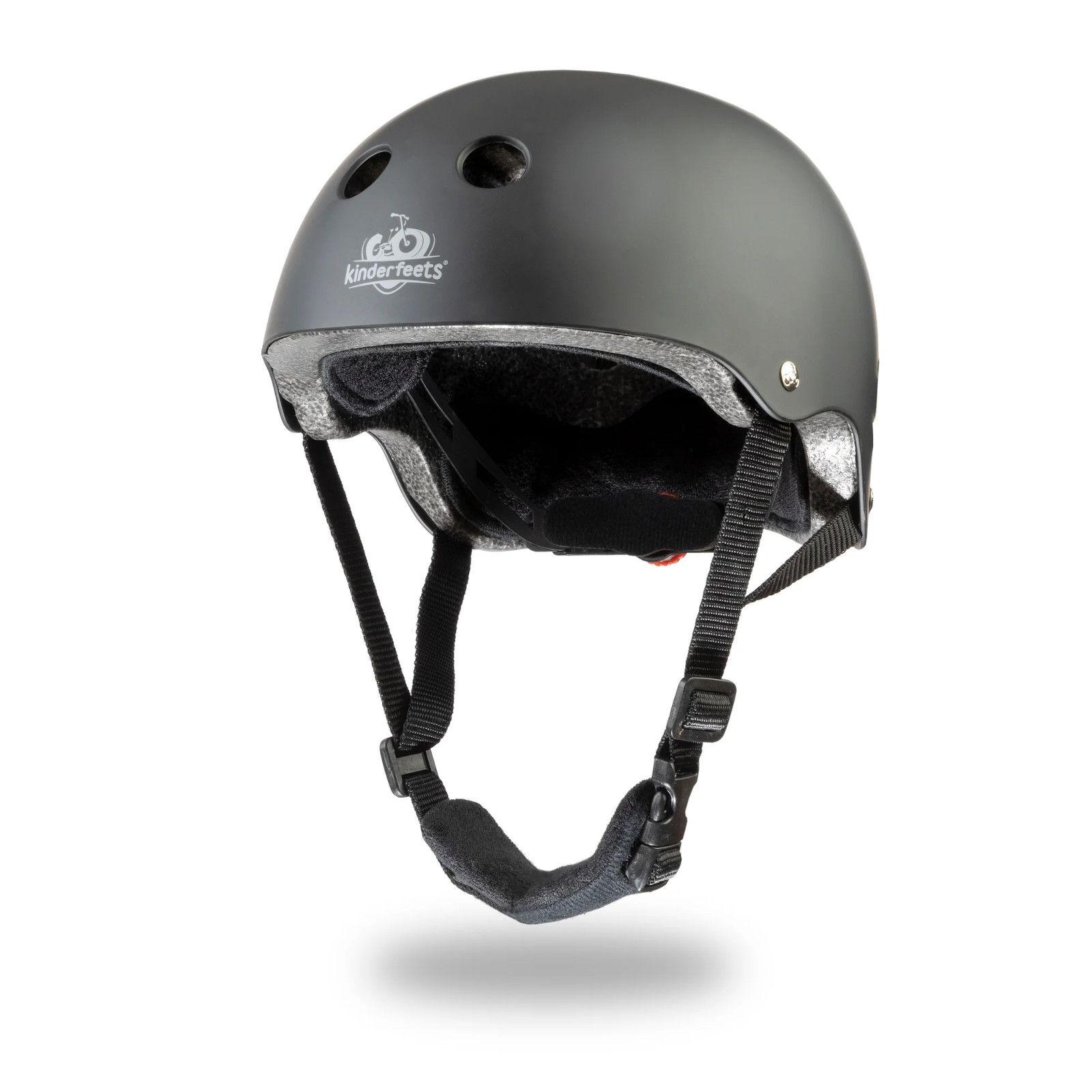 Decija Kaciga Za Bicikl Kindefeets Matte Black Riding Helmets