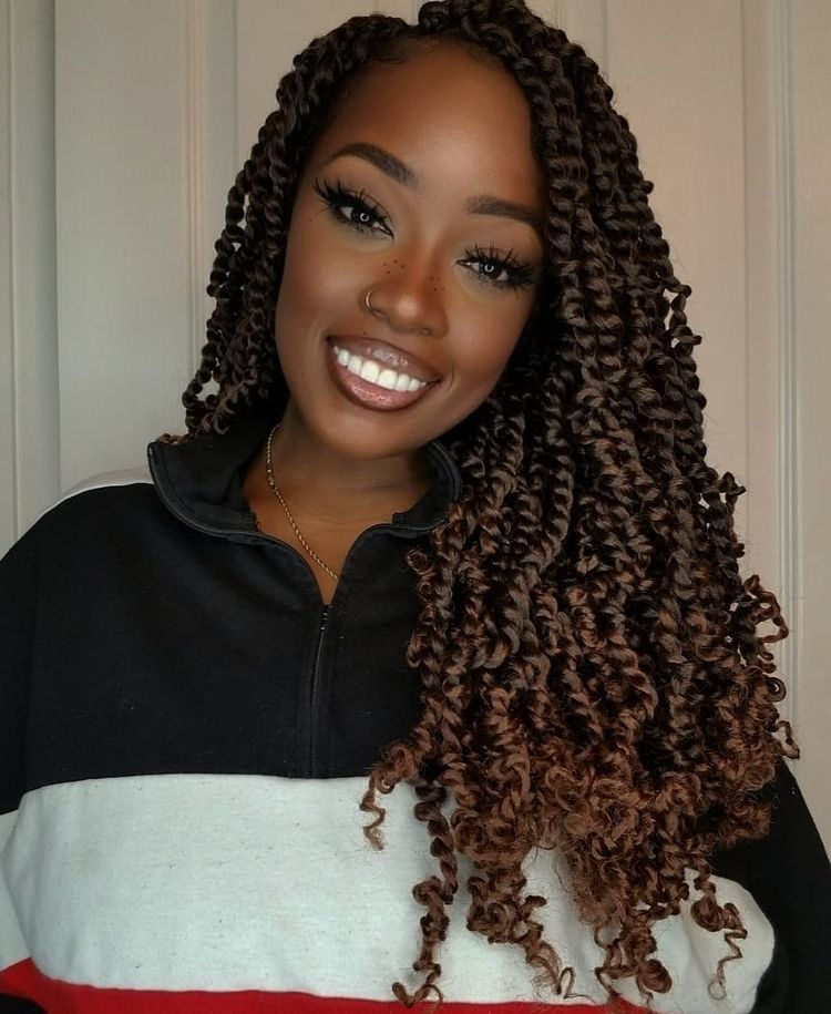 Passion twists hairstyles