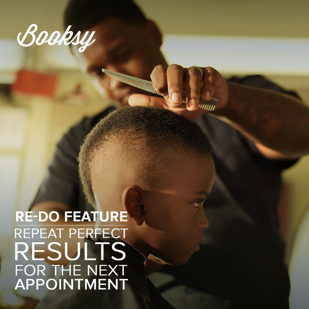 Repeat your best results with Booksy App. Your clients