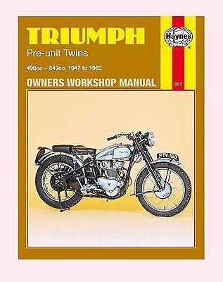 haynes manual triumph speed twin thunderbird trophy tiger rh pinterest com 1974 Triumph Bonneville 1968 triumph bonneville owner's manual