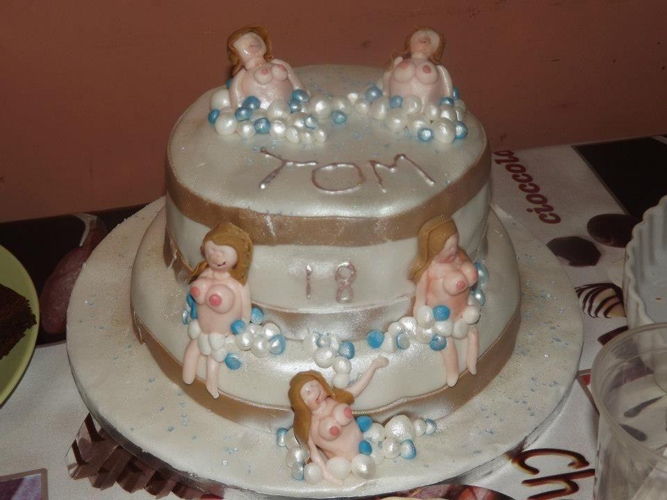 Naughty Lady Cake For My Nephews 18th Birthday He Said Surprise Me