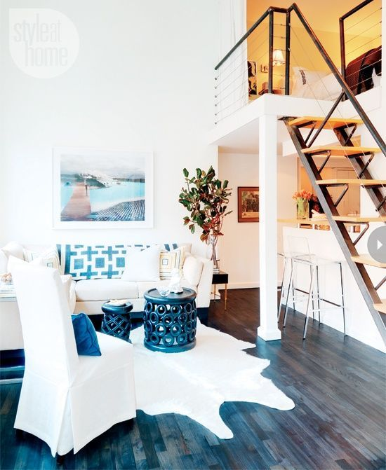 Decorating small apartments - manhattan loft @ style @ | Loft .