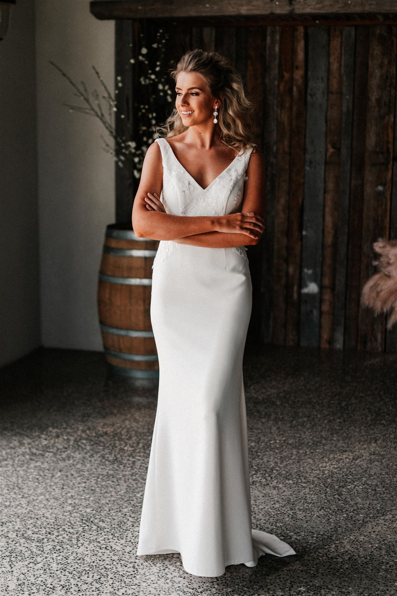 The Katrina Bertossi Brides Gown From Our Brand New Como Collection In Our St Casual Wedding Dress Australian Wedding Dress Designers Wedding Dresses Images