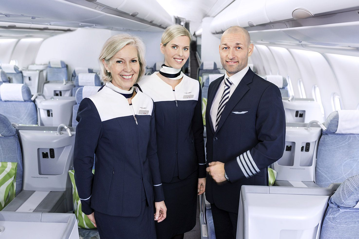Cabin Crew take care of the safety on your flight. Cabin