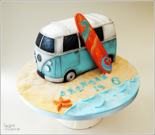Vw Campervan Cake This Is Not A Diy Hire A Professional