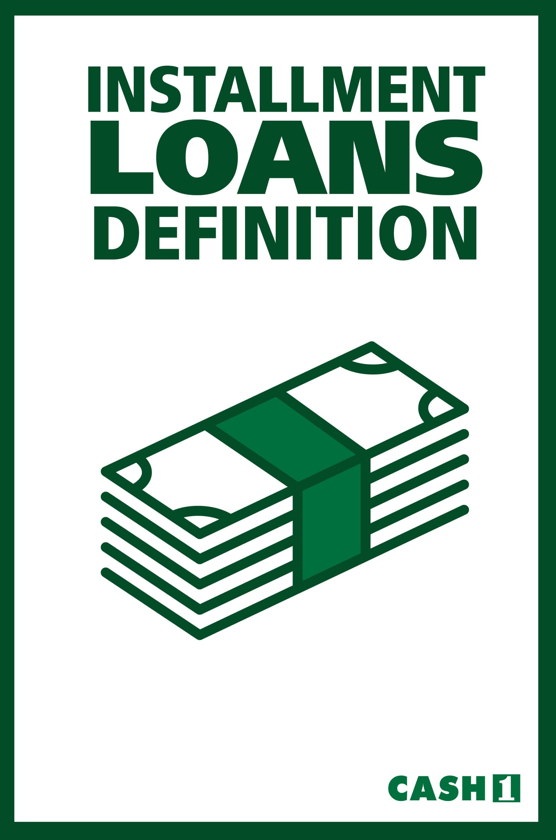 Installment Loan Definition Any Loan That Is Repaid Over Time With A Set Number Of Regularly Scheduled Payments Car L Installment Loans Car Loans Definitions