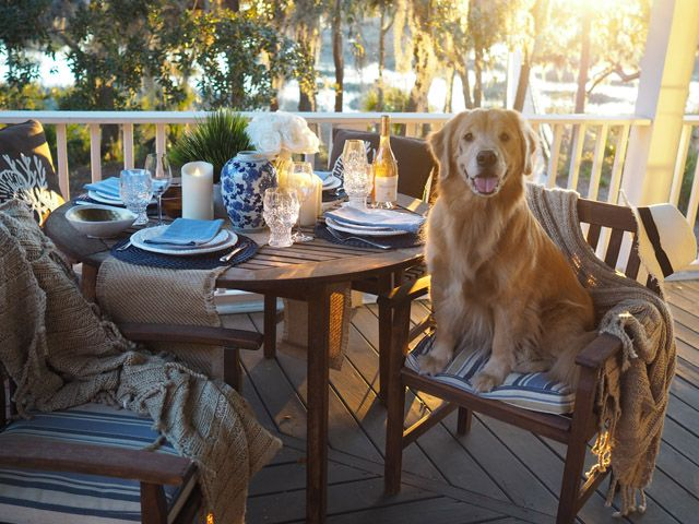 Southern Comfort The Perfect Coastal Table Setting For A