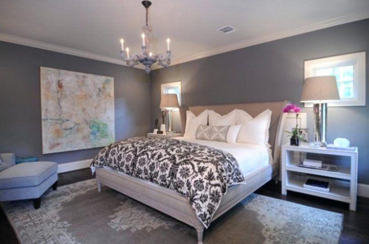 wunderbare schöne Grau Schlafzimmer design Graues