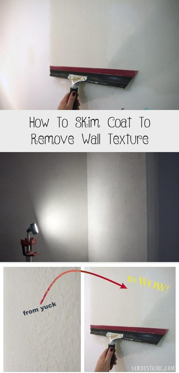How to skim coat to remove wall texture textured walls