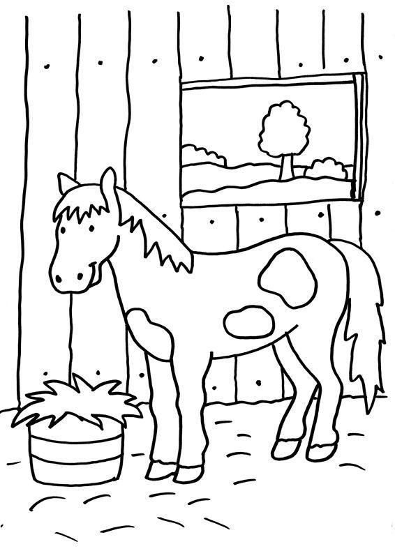 Ausmalbilder Pferde Im Stall Ausmalbilder Pferde Bilder Zum Ausmalen Ausmalen