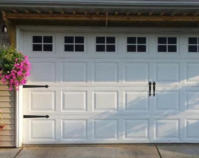 Vinyl Faux Carriage Garage Door Garage Door Styles Garage Door