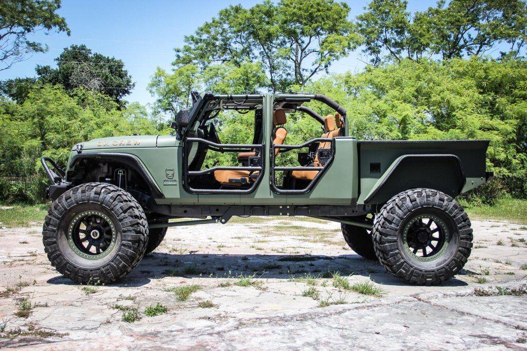 Jeep Wrangler Truck Conversion Bruiser Conversions Jeep