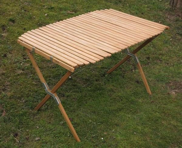 Campingtisch Holz.Holz Camping Tisch Roll Top Camp Table 06 04 2016 10 20