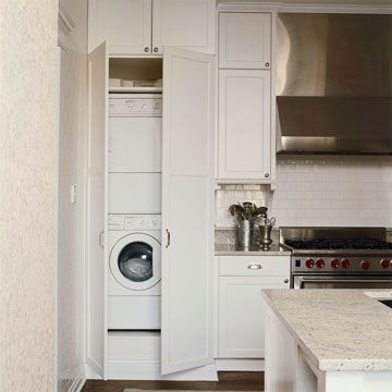 Kitchens With A Laundry Area Laundry In Kitchen Small Laundry