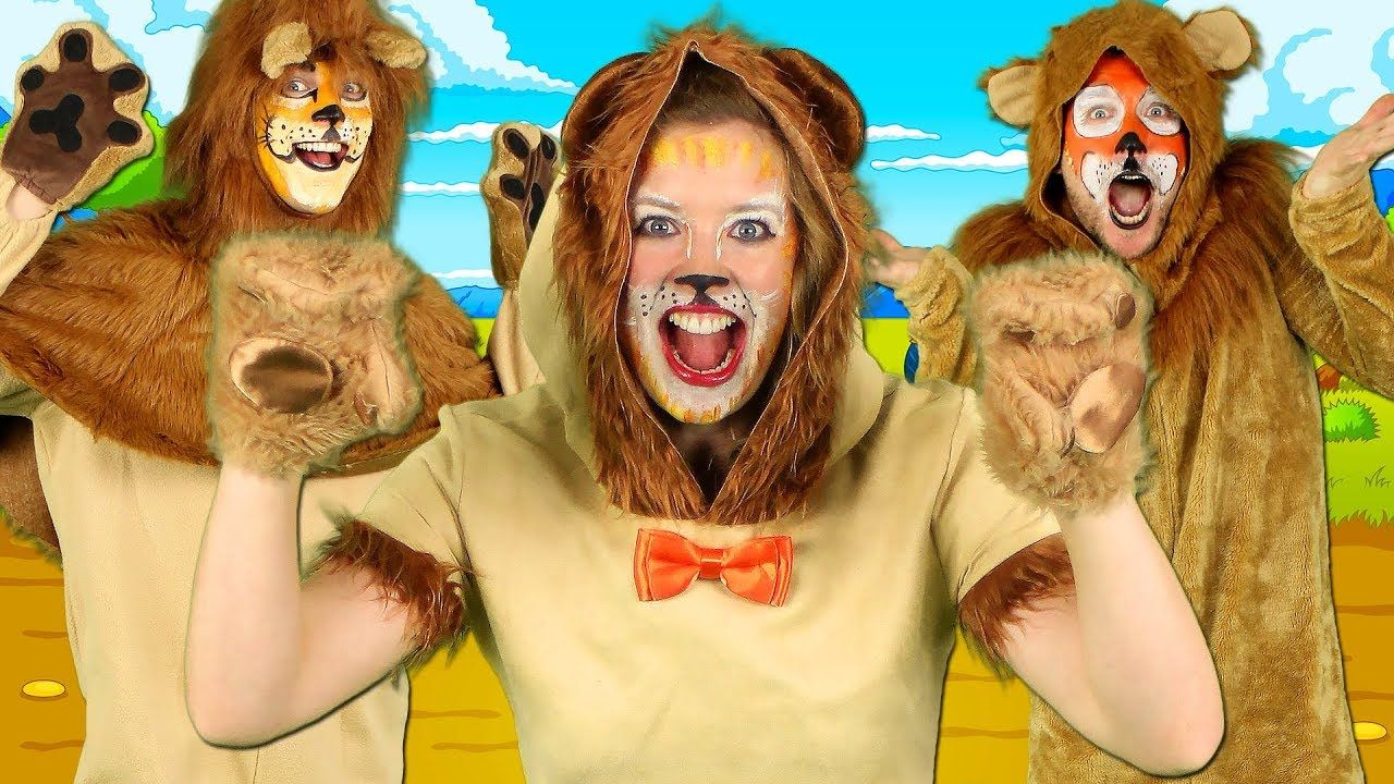 Lion Song What Sound Does a Lion Make? Animal Sounds