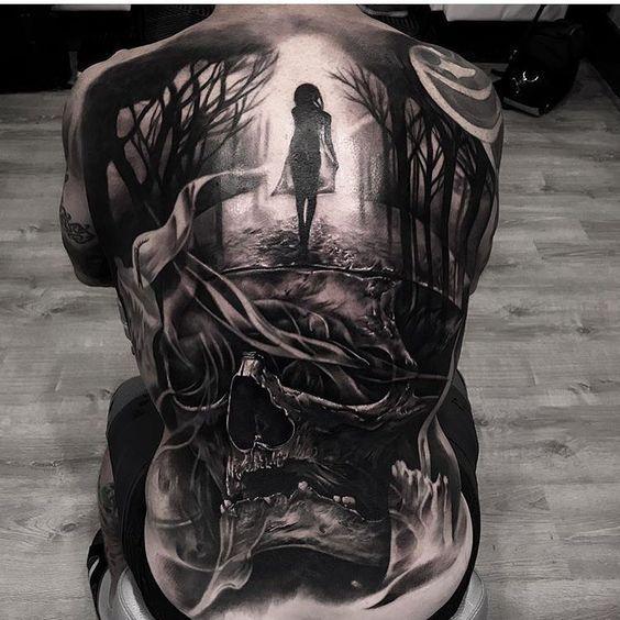 Tatuajes Para Hombres En La Espalda Tatuajes