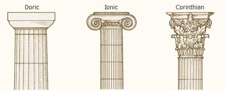 Column Png Ionic Order Pillar Design Graphic Design Portfolio Examples
