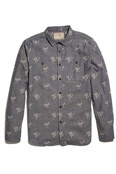 Antlers Heritage Chambray Shirt - Just A Cheap Shirt - Shirts : JackThreads