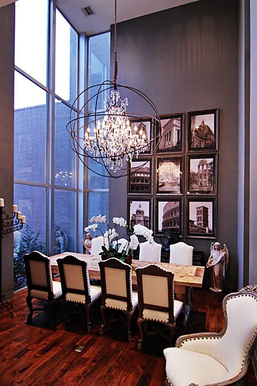 formal dining room exhibits high ceilings floor to ceiling windows for natural light custom - Formal Dining Chandelier