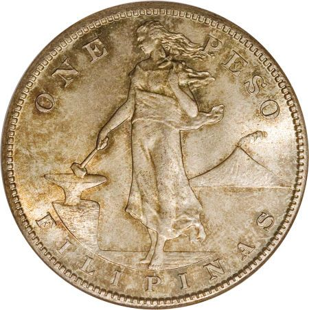 The 1 Highest Valued Philippine Coin To Sell At Heritage Auctions Usa Administration Peso 1912 S Km 172 Ms65 Pcgs Ex Old Coins Ancient Coins Silver Coins