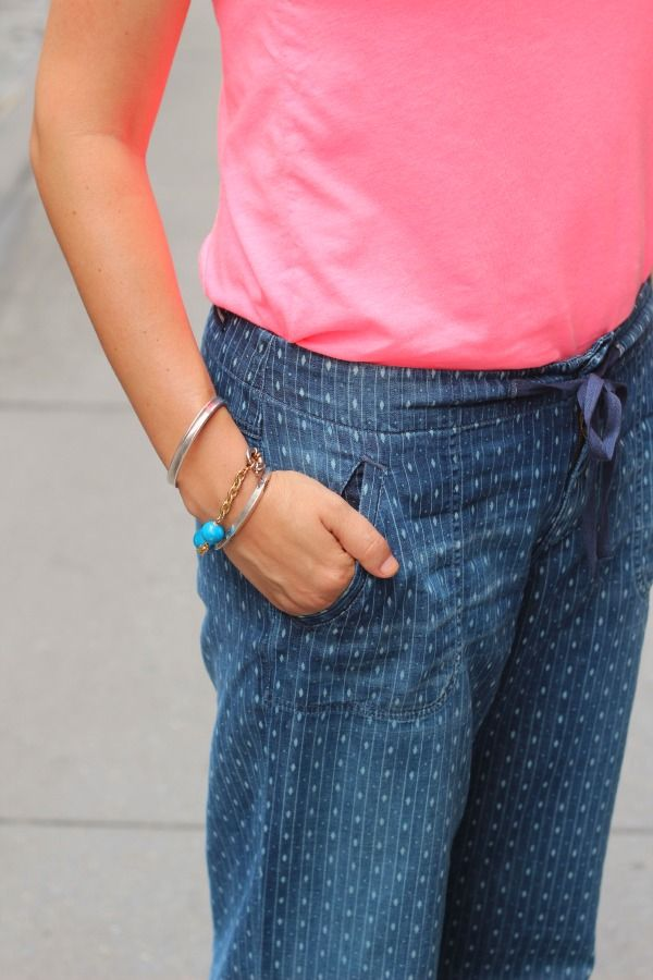 Pajama jeans that are street legal. Love these CoH 'Birdie' pants.