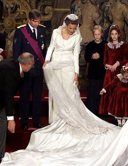1926 Wedding King Leopold Queen Astrid Koninklijke Bruidsjurken Koninklijke Huwelijken Koninklijke Bruiloft