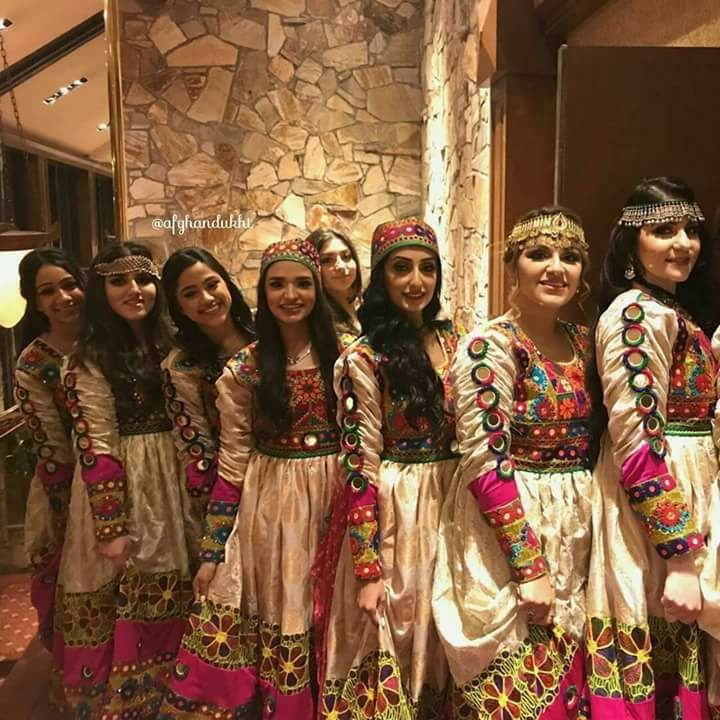 Beautiful Afghani Dress Afghani Dress And Style