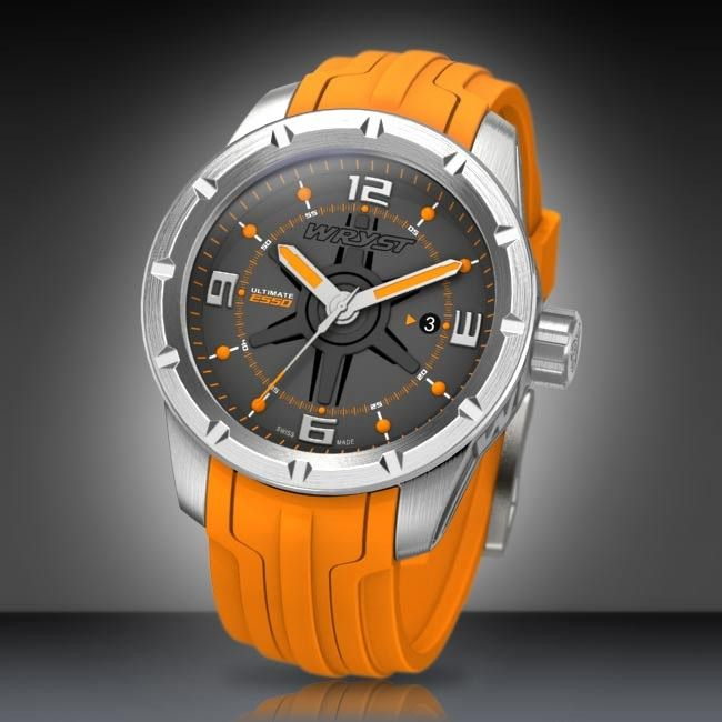 Orange sport watch wryst ultimate es50 orange sport watch wryst ultimate es50 swiss made limited edition of 99 pieces only wryst timepieces publicscrutiny Image collections