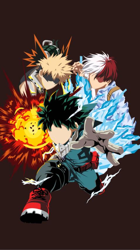 My Hero Academia Wallpaper Bakugou