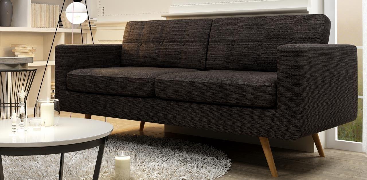 Viva 3 Seater Retro Sofa