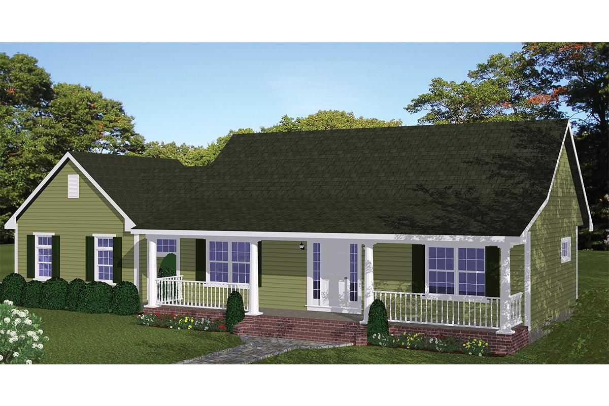 House Plan 526 00069 Ranch Plan 1 085 Square Feet 2 Bedrooms 2 Bathrooms Diy House Plans Cottage Plan Ranch House Plans