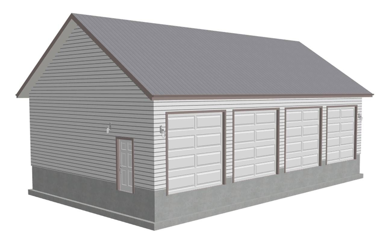 detached garage plans free premium members download g442