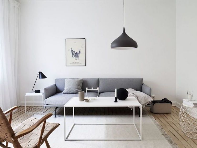 Dites oui au salon de style minimaliste et aux idées déco des pros