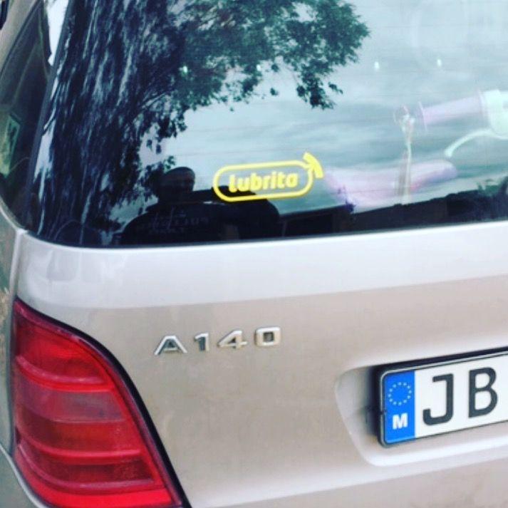 Lubrita malta sticker cars oil lubricant grease chemical